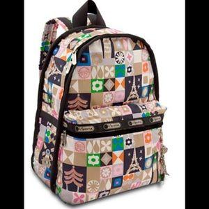 NWOT Disney by LeSportsac print backpack